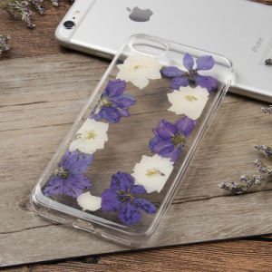Real Dried Pressed Colorful Flowers Phone Case for iPhone 7 pictures & photos