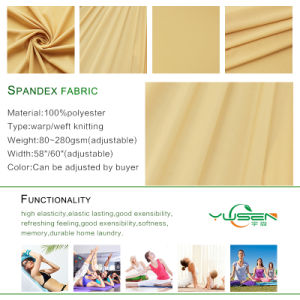 86%Polyester 14%Spandex 50d Polyester 40d Spandex Elastic Supplex Lycra Fabric pictures & photos
