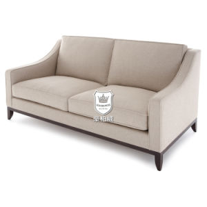 Classically Durable Fireproof Fabric Hotel Sofa for Lobby pictures & photos