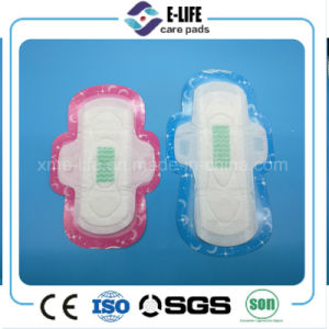 Breathable Ultra Thin Sanitary Napkin with Wings Factory pictures & photos