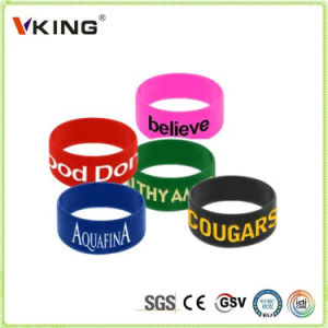 New Products in China Market Debossed Silicone Wristbands