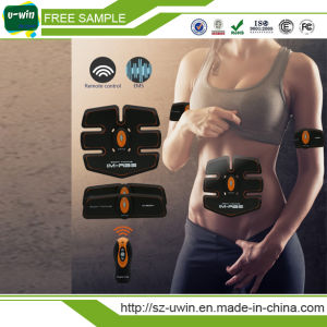 ABS Abdominal Training Machine Electric Slimming Massager pictures & photos