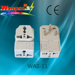 Universal Travel Adaptor--Socket, Plug (WAII-11A) pictures & photos