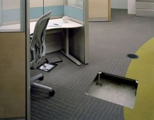 Magnetic Carpet Network Raised Flooring pictures & photos