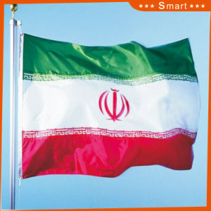 Custom Waterproof and Sunproof National Flag Iran National Flag Model No.: NF-056 pictures & photos