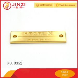 Quality Guarantee Brand Metal Main Label for Clothing pictures & photos