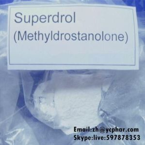 99% Muscle Building Raw Superdrol Powder MethylDrostanolone CAS 3381-88-2 pictures & photos