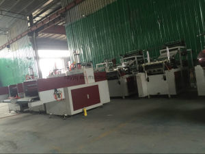 High Speed Double Layer Supermarket Plastic Bag Making Machine pictures & photos
