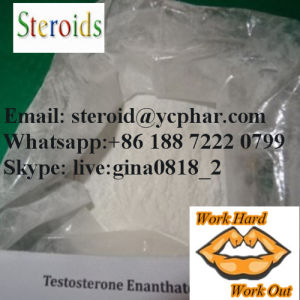 99.9% Anabolic Steroid Test E Powder Testosterone Enanthate for Sale pictures & photos