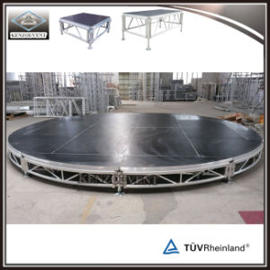 Customized Aluminum Portable Small Round Stage/Wedding Stage pictures & photos