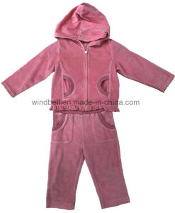 Princess Suit for Baby Girl with Glitter Print pictures & photos