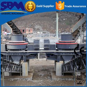 Vertical Rock Crusher Series Pcl Vertical Shaft Impact Crusher pictures & photos