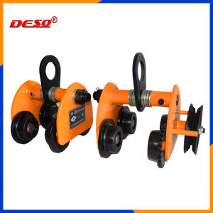 Drop Forged Steel Beam Lifting Trolley for Hoist pictures & photos