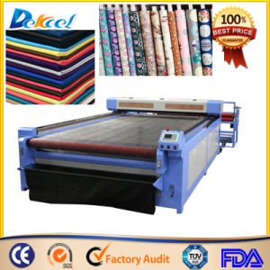 Auto Feeding CO2 Fabric Laser Cutting System for Sale pictures & photos
