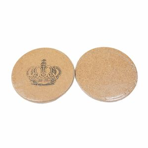 Printed Logo Cork Coaster for Cups pictures & photos
