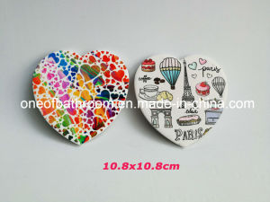 Heart Style Ceramic Cup Mat for Decoration pictures & photos