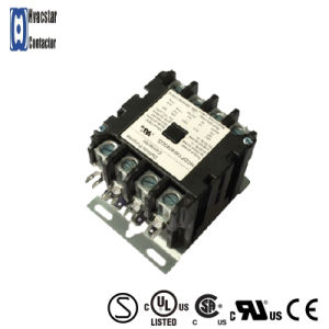 High Quality Magnetic Contactor AC Contactor 4 Poles 120V 40A pictures & photos