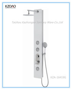 Kza-16419g Anti-Scald Tempered Glass Shower Panel Collection pictures & photos