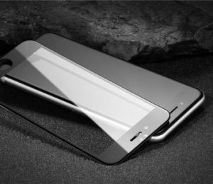 3D Covered Smudge Free Bubble Free Rounded Edge Toughened Glass Membrane for iPhone 6