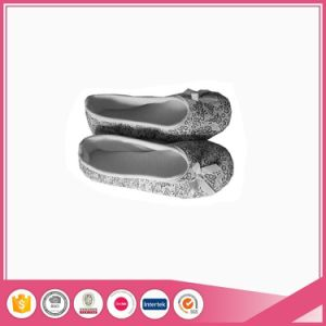 Ballet Shoes Indoor Slipper with Textile Sole pictures & photos