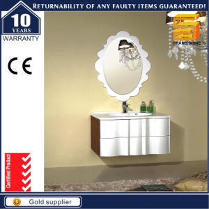 Customized Wall Mounted Wooden Bathroom Vanity Cabinet with Wash Basin pictures & photos