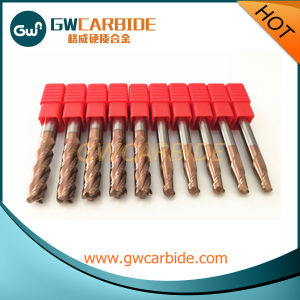 Solid Carbide End Mill Cutters pictures & photos