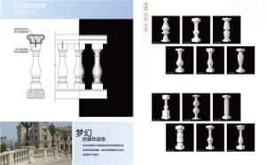 Decorative Balcony Baluster Stone Handrail Banister Stair Baluster Railing Parapet pictures & photos