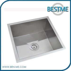 2016 Hot Sale Stainless Steel Sink for Kitchen with One Bowl (BS-208R) pictures & photos