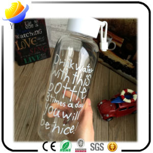 Promotional Gift High Borosilicate Glass Portable and Creative Water Bottle pictures & photos