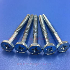 Cross Recessed Pocket Hexagon Head Self - Tapping pictures & photos