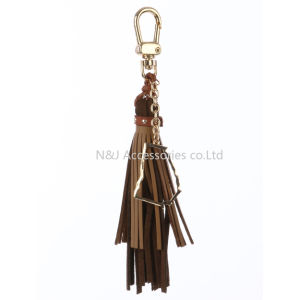 State of Georgia Charm Faux Leather Tassel Key Chain Ornament Gift pictures & photos