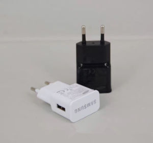 5V 2.1A Dual USB Wall Charger for All Kinds of Samsung iPhone pictures & photos