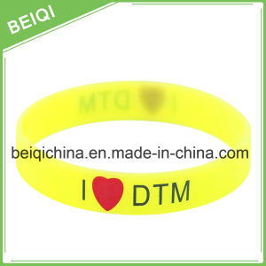 "1/2"" Silicone/Rubber Bracelet for Promotion pictures & photos"