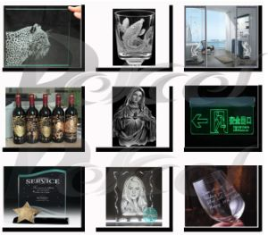 CO2 Laser Glass & Crystal Engraving Machine for Crafts Dekj-6040 pictures & photos