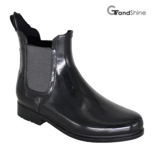 Unisex ′s Injection Swing Rubber Riding Boots pictures & photos