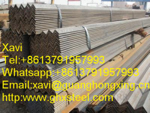 Q235B/Q345 Equal Hot Dipped Galvanized Steel Angle pictures & photos
