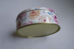 Design Customized Circular Metal Gift Box Decorative Tin Boxes pictures & photos
