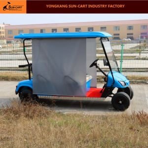 4 Seater Electric Golf Cart with Sun Shade pictures & photos