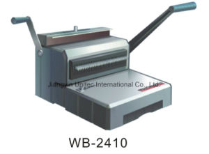 Wb-2410/Wb-2410e Heavy Duty Manual Wire Book Binding Machine pictures & photos