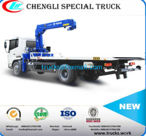 Dfl Series Chassis Wrecker Truck with 5ton Crane for Sale pictures & photos