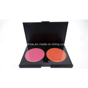 Professional Private Label 2 Color Blusher Cosmetics Makeup Beauty Blusher Palette H2#2
