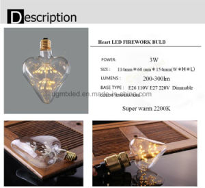 Dimmable decro LED bulb e27 lighting bulb for sale pictures & photos