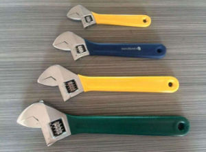 Forged Adjustable Wrench, Plastic Handle Adjustable Wrench, Wrench pictures & photos