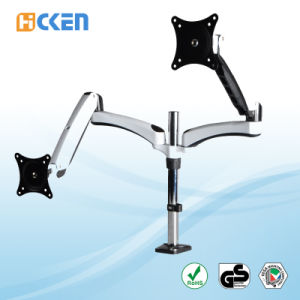 Easy Adjust Desk Mount Monitor Arm HK-Ms124c pictures & photos