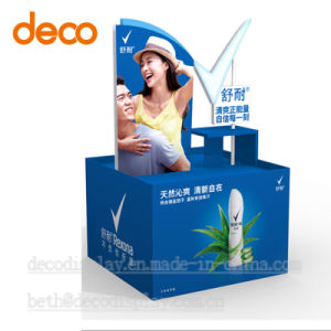 Cardboard Floor Display Pop Display Stand Paper Pallet for Promotion pictures & photos