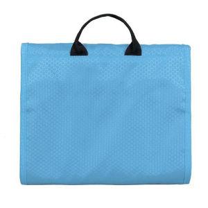 Hanging Waterproof Men Nylon Wash Cosmetic Travel Toiletry Toilet Bag pictures & photos