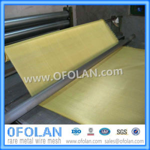 Hole Size 0.3mm (60mesh)  Brass Wire Mesh/Cloth 1000mm*1000mm Stock Supply pictures & photos