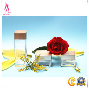 Eco-Friendly Rectangle Glass Container for Personal Care pictures & photos