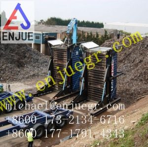 40FT Stationary Hydraulic Container Tilter pictures & photos