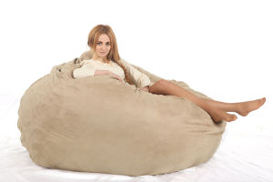 Large Foam Bean Bag for Adult with Comfort Microfiber Suede Size 180X30cm pictures & photos